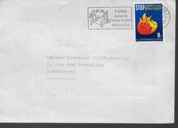 LUXEMBOURG  Lettre 1981 Energie Upu - U.P.U.