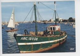 Arcachon : Le Port (cp Vierge N°106) Bateau ARC 13238 - Arcachon