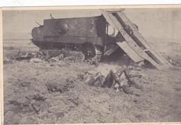 Tank Soldat Mort . 1 WK 1 ° Guerre - War 1914-18