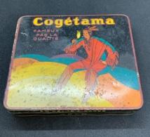 Tabac. Ancienne Boite En Fer. Cigares Cogétama. - Zigarrenkisten (leer)