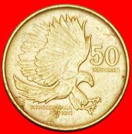 + EAGLE (1991-1994): PHILIPPINES ★ 50 SENTIMO 1991! LOW START ★ NO RESERVE! - Philippinen