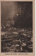 ORADOUR SUR GLANE   INTERIEUR   DE L EGLISE PAS CPA MAIS FORMAT NON DIVISE AU DOS - War 1939-45