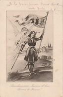 Croquis De Jeanne D'Arc - Femmes Célèbres