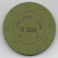 Impérial Club Paris : Ouvert Depuis Le 24/05/2019 : Jeton De 0.50 € - Casino