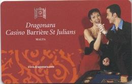 Dragonara Casino Barrière St Julians Malta - Casinokarten