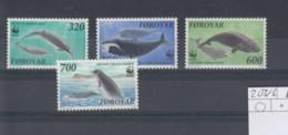 Färöer Inseln Michel Cat.No.   Mnh/**   203/206 Wwf - Faroe Islands
