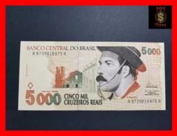 BRAZIL 5.000 5000 CRUZEIROS 1993 P. 241 UNC- - Brasil