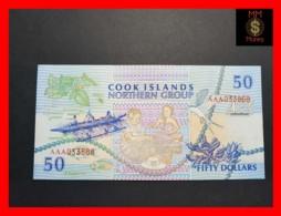 COOK 50 DOLLARS 1992 P. 10 UNC - Cookeilanden