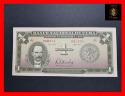 CUBA 1 PESO 1975 P. 106 *COMMEMORATIVE* UNC - Kuba