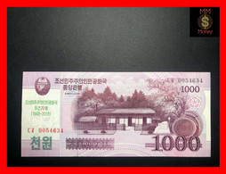 KOREA NORTH 1.000 1000 2.000 2000 WON 2018 P. NEW *COMMEMORATIVE* UNC - Korea (Nord-)