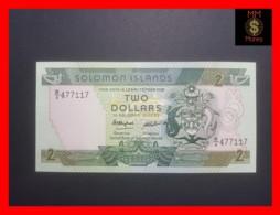 SOLOMON ISLAND 2 $ 1986 P. 13 UNC - Isla Salomon