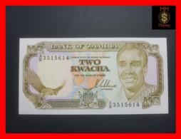 ZAMBIA 2 KWACHA 1989 P. 29 UNC - Zambia