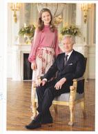 Princess Elisabeth King Philippe   Belgium  ( Rd 119 - Royal Families