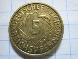 5 Reichspfennig 1935 (A) - 5 Reichspfennig