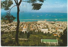 °°° 13417 - ISRAEL - HAIFA - PANORAMA - With Stamps °°° - Israele