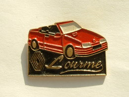 PIN'S RENAULT LOURME - R19 CABRIOLET - Renault