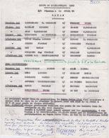 BOXE - 1966 Programme Gala Combat De Boxe COUPE ATLANTIQUE  ROYAN ET LA ROCHELLE - Boxing