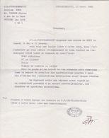 BOXE - A.S. FOURCHAMBAULT  GALA DE BOXE - MR TOCHON A POUGUES LES EAUX - Autres
