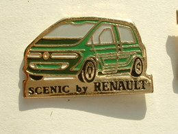 PIN'S SCENIC BY RENAULT - VERT - Renault