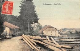 Frasne Canton Levier Les Toles Scierie 88 Faivre Locca Toilée Colorisée - France