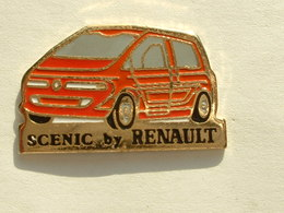PIN'S SCENIC BY RENAULT - ROUGE - Renault