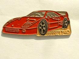 PIN'S FERRARI F40 - Ferrari