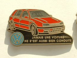 PIN'S VOLKSWAGEN GOLF - Volkswagen