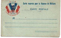 CARTE AUX DRAPEAUX - FRANCHISE MILITAIRE - AVRIL 1915 - Guerra 1914-18
