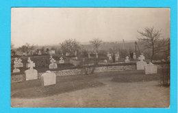 CPA AUVELAIS : Photo Cimetière (dans Auvelais ??) Phot. Namèche, Auvelais - 1er Prix Expo De Châtelet 1916 - Sambreville