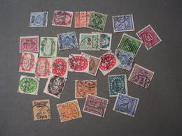 DR Infla Lot - Briefmarken