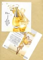 Carte Promo Perfume Card * 14,5 X 14,5 Cm * R/V - Modern (from 1961)