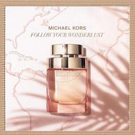"CC Carte Parfumée ""MICHAEL KORS WONDERLUST"" Perfume Card Rabat 5x5 - Modern (from 1961)"