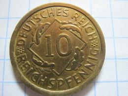 10 Reichspfennig 1936 (A) - 10 Reichspfennig
