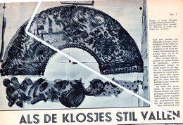 GERAARDSBERGEN..1934.. ALS DE KLOSJES STIL VALLEN... DE KANTWERKSTERS - Vieux Papiers
