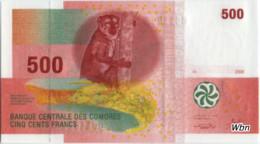 Comores 500 Francs (P15) 2006 -UNC- - Comore