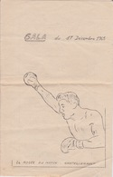 BOXE - PROGRAMME GALA A CHATELLERAULT 1965 - Autres