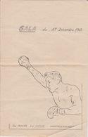 BOXE - PROGRAMME GALA A CHATELLERAULT 1965 - Boxing