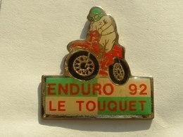 PIN'S MOTO - ENDURO 92 - LE TOUQUET - Motos