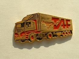 Pin's CAMION  - TRANSPORTS TAF - Transports