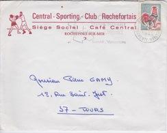 BOXE - ENVELOPPE DU CLUB CENTRAL SPORTING CLUB ROCHEFORTAIS - ROCHEFORT SUR MER - Boxe