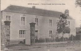 Rare Cpa Brecé Maison D'accueil Des Institutrices Libres - France