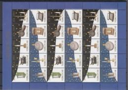 Färöer Inseln Michel Cat.No. Jol Sheet 1993 - Färöer Inseln