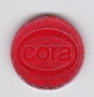 Jeton De Caddie En Plastique - Cora - Supermarché - Einkaufswagen-Chips (EKW)