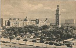 W4019 Buenos Aires - Parque Retiro Y Torre De Los Ingleses / Viaggiata 1953 - Argentina