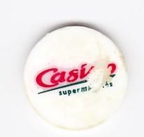 Jeton De Caddie En Plastique - Casino Supermarchés - Einkaufswagen-Chips (EKW)