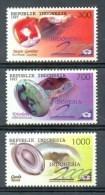 Mgm1769 MINERALEN GEMSTONES MINERALIEN UND GESTEINE MINÉRAUX EXPO INDONESIË INDONESIA 1997 PF/MNH - Mineralen