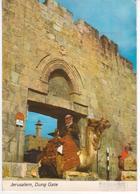 °°° 13423 - ISRAEL - JERUSALEM - DUNG GATE - 1983 With Stamps °°° - Israele