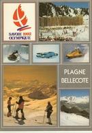 Plagne Bellecote-savoie Olympique 1992-luge - Bobsleigh-cpm - Otros Municipios