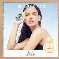 "CC Carte Parfumée ""ARMANI Di GIOIA LIGHT"" Perfume Card Rabat 5x5 - Modern (from 1961)"