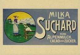 MILKA  SUCHARD Reine Alpenmilch   2 Scans - Reklame
